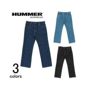 作業服 作業着 HUMMER ハマー 秋冬作業服 デニム(股下73) 1001-25|kanamono1