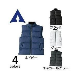 アタックベース 秋冬作業服 防寒ベスト 390-0|kanamono1