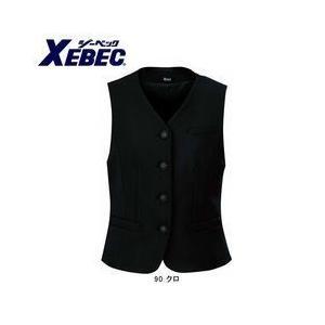 XEBEC(ジーベック) 作業服 レディスベスト 40015 kanamono1