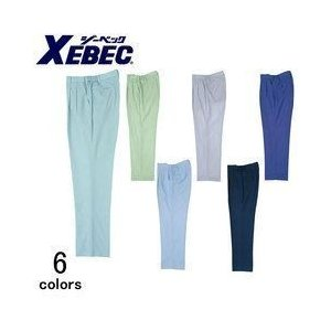 XEBEC(ジーベック)/春夏作業服/ツータックスラックス 1550 kanamono1
