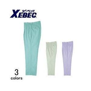 XEBEC(ジーベック) 春夏作業服 ツータックスラレーズスラックス 9600|kanamono1
