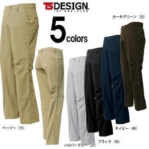 TSDESIGN(藤和) 春夏作業服 ストレッチタフメンズパンツ 84612|kanamono1