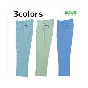 作業服 作業着 SOWA 春夏作業服 スラックス 349|kanamono1