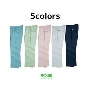 作業服 作業着 SOWA 春夏作業服 スラックス 419|kanamono1