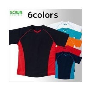 作業服 作業着 SOWA 作業服 半袖ツートンTシャツ 50403|kanamono1