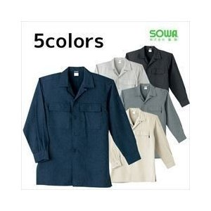SOWA/年間作業服/オープンシャツ 62015|kanamono1