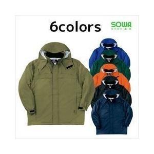SOWA(桑和) 秋冬作業服 防水防寒コート2806|kanamono1