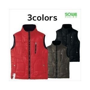 SOWA(桑和) 秋冬作業服 防寒ベスト2906|kanamono1