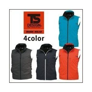 TSDESIGN(藤和) 防寒作業服 ライトウォーム ウインターベスト 1628|kanamono1