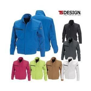 TSDESIGN(藤和) 春夏作業服 RIP STOP ジャケット 6116|kanamono1