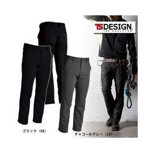 TSDESIGN(藤和) 防寒作業服 防風ストレッチパンツ 846232|kanamono1