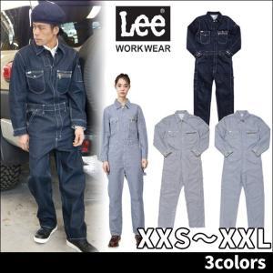 Lee リー 通年作業服 ユニオンオール LWU39001|kanamono1
