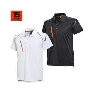 TSDESIGN(藤和) 春夏作業服 FLASH 半袖ポロシャツ 5065|kanamono1