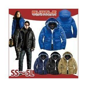 SS〜LL BURTLE バートル 秋冬作業服 防寒ジャケット(大型フード付)(ユニセックス) 7510|kanamono1