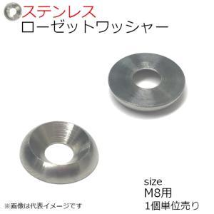 SUS ローゼットワッシャー 生地 M8用 1個入り kanamonoasano