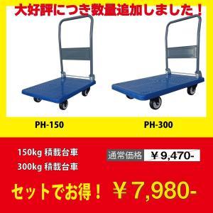 送料無料!(沖縄・離島を除く)  20セット限定販売!  コンパクトで使いやすい150kg積載タイプ...