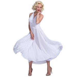 ハロウィン衣装  大人用 女性用   マリリン・モンローに変身 コスプレ衣装 コスチューム ハロウィ...