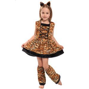 子供ハロウィン衣装子供 男の子 女の子 虎 トラに変身に変身 ハロウィン 衣装 キッズ ハロウィン衣...
