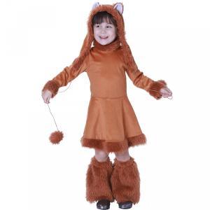 子供ハロウィン衣装子供 女の子  動物 狐 きつねに変身  ハロウィン 衣装 キッズ ハロウィン衣装...