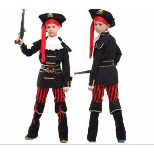 子供ハロウィン衣装子供 女の子 男の子 海賊 ジャック船長パイレーツオブカリビアン  キッズ ハロウ...