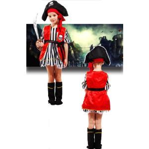 子供ハロウィン衣装子供 女の子  海賊 ジャック船長パイレーツオブカリビアン  キッズ ハロウィン衣...