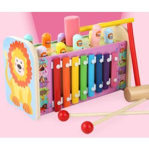 3in1  いたずらモグラたたきゲーム  オルガン  回転ギア  おもちゃ 知育玩具   赤ちゃん 誕生日プレゼント 男 女 積み木 積木 知育 玩具 お祝い