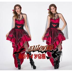 ドラキュラ 吸血鬼 伯爵 コウモリ バンパイア  ハロウィン衣装 大人用 女性用 ハロウィン 衣装 ...
