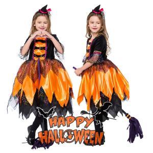 子供ハロウィン衣装子供 女の子 まじょ 魔女  witch 巫女 ウィッチ  キッズ ハロウィン衣装...