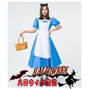 大きいサイズS〜XL 大人用  ハロウィン衣装 女性用 アリス  メイド  女王 ハロウィン 衣装 ...