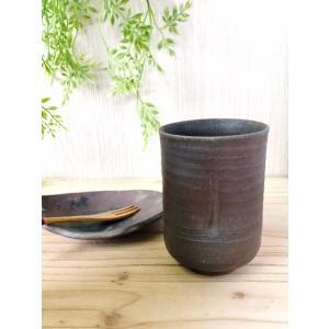 竹湯呑 kanayamayaki