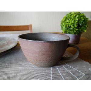 【今ならお得】スープマグ 通常3300円/津軽金山焼 金山焼 陶器 日本製 手作り ギフト 記念品 プレゼント 贈り物 おしゃれ 器 マグカップ 食器 |kanayamayaki