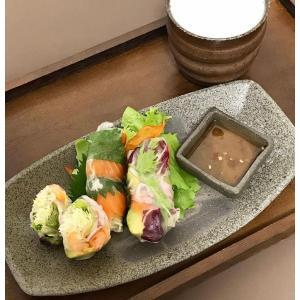 黒ひだすき 舟形皿 大|kanayamayaki