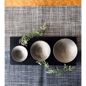 「須恵器」盃3種セット|kanayamayaki