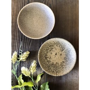 「須恵器」小鉢(丸)/津軽金山焼 金山焼 陶器 日本製 手作り ギフト 記念品 プレゼント 贈り物 おしゃれ 食器 黒い 須恵器 小鉢 和食器 丸い|kanayamayaki