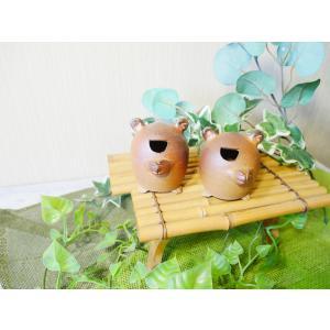 かえたん/津軽金山焼 金山焼 陶器 ギフト 記念品 プレゼント 贈り物 おしゃれ 和モダン カエル 蛙 かわいい 置き物 インテリア  |kanayamayaki