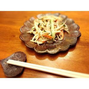 フラワーソーサー |kanayamayaki