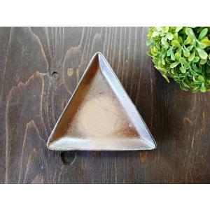 三角形皿|kanayamayaki