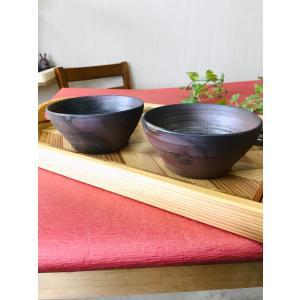 さといも鉢/津軽金山焼 金山焼 陶器 日本製 手作り プレゼント 贈り物 おしゃれ 鉢 食器 器 どんぶり 焼き締め 渋い 和モダン|kanayamayaki