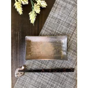 付出し皿 /津軽金山焼 金山焼 皿 陶器 日本製 手作り ギフト 記念品 プレゼント 贈り物 おしゃれ 器 焼締|kanayamayaki