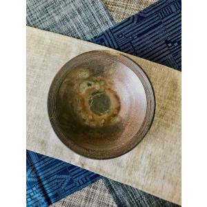 リムライン菓子鉢/津軽金山焼 金山焼 陶器 日本製 手作り プレゼント おしゃれ お祝 器 食器 ボウル リム 菓子鉢 大鉢 食器 |kanayamayaki