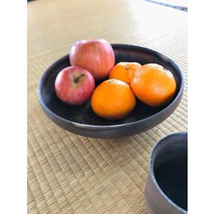 菓子鉢(プレーン)/津軽金山焼 金山焼 陶器 日本製 手作り プレゼント おしゃれ お祝 器 食器 ボウル 大鉢 菓子鉢 和風 和モダン|kanayamayaki