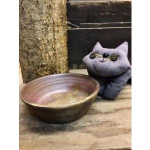猫のフード入れ|kanayamayaki