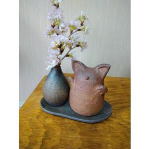 よろこぶネコちゃん |kanayamayaki
