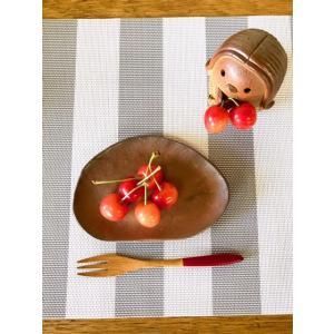 ふしぎ皿(ミニ) /津軽金山焼 焼き締め 薪窯 器 和食器 食器 小皿 皿 ギフト おしゃれ 焼き締め|kanayamayaki