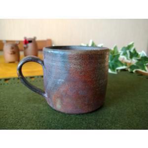 ストレートマグ  /津軽金山焼 金山焼 陶器 日本製 手作り ギフト 記念品 プレゼント 贈り物 おしゃれ マグカップ カップ 器 kanayamayaki