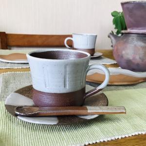 「雪国」ラインマグ/津軽金山焼 金山焼 陶器 日本製 手作り ギフト 記念品 プレゼント 贈り物 おしゃれ マグカップ かわいい 器 カップ |kanayamayaki