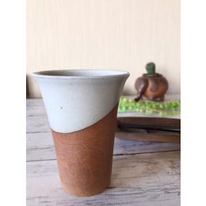 「雪国」ビアカップ 中|kanayamayaki