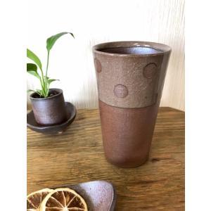 ドット焼酎カップ【林檎の森】|kanayamayaki