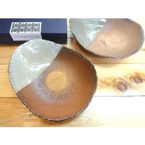 【雪国】【りんごの森】こぎん楕円鉢ペア 通常価格4,675円|kanayamayaki