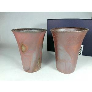 ビアカップ(中)ペア 通常価格3,520円|kanayamayaki